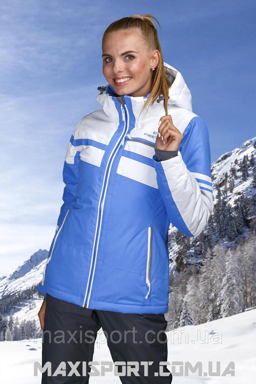 Куртка горнолыжная женская Freever 7254 LightBlue