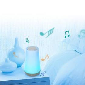 S16A Bluetooth 3.0 Звукозаписывающая лампа - Белый