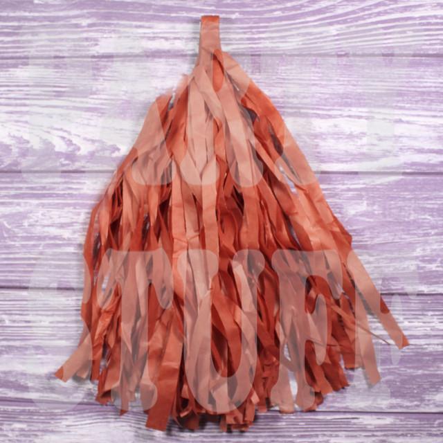 кисточки тассел светло-коричневые