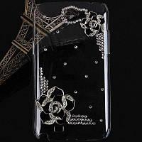 Цветок боярышника Пластиковые алмазов Чехол для Samsung Galaxy Примечание 2 N7100 SGN-2470