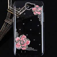 Цветок боярышника Пластиковые алмазов Чехол для Samsung Galaxy Примечание 2 N7100 SGN-2452