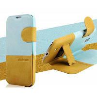Baseus флип Стиль Ультра тонкий PU кожаный чехол Чехол для Samsung Галактики i9500 и S4 / i9505 с BS-5216