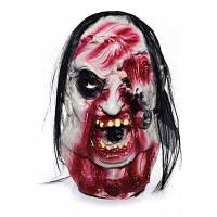 Ужасная латексная полнолицевая маска для Хэллоуина стиль 1