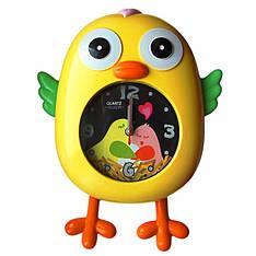 """Детские настенные часы """"Цыпленок"""" с маятником (разные цвета)"""