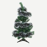 Новогоднее украшение длинная мишура Темно-зелёный