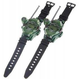 Одна пара стиль часов Walkie Talkie с семью функциями (зеленый) - зеленый