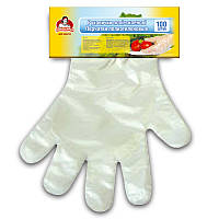 Перчатки полиэтиленовые ТМ (100шт.)