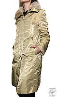 Пальто цвета шампань р. М 46-48 еврозима