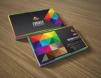 Разработка дизайна визитной карточки (визитки)