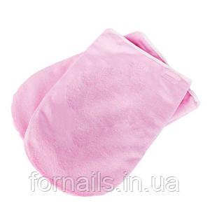 Варежки для парафинотерапии розовые
