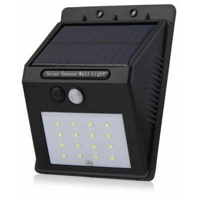 Brelong 2835 SMD ИК-датчик солнечной светодиодный ночник уличный фонарь - Чёрный, фото 2