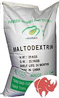 Углеводы мальтодекстрин Maltodextrin DE 15-20 25 кг