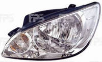 Фара передняя для Hyundai Getz '06-11 правая (DEPO) электрич.