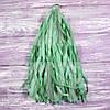 Гирлянды тассел изумрудные, 35 см, 5 шт