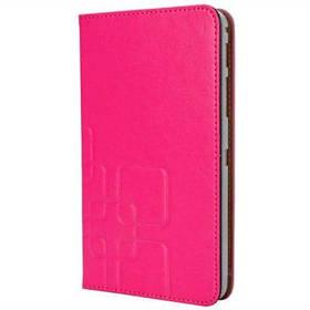 Классический чехол из искусственной кожи и пластика с держателем карты для 8-дюймового планшета Samsung T330 T331 - Пурпурный