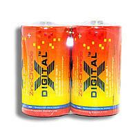 Батарейка X-Digital R-20 (бочка) тех.