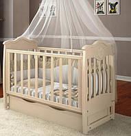 Детская кроватка Angelo №5 слоновая кость, фото 1