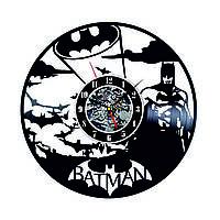 Настенные часы из виниловых пластинок LikeMark Batman Dark Knight