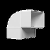 Колено вертикальное пластик 90° 55*110