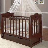 Детская кроватка Angelo №5 орех, фото 1