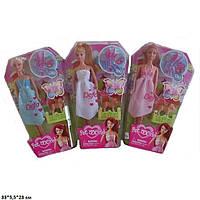 Кукла Defa 28см, собачка, сумочка, аксессуары, 2 вида, в кор. 19,5*32*5,5см., (48шт) (8073)