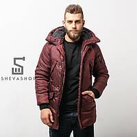 Зимняя мужская куртка RaD Onoma марсала