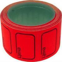 Цінник рамка (5шт.) червоний, 715 шт.\ящ.
