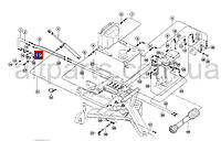 Ремкомплект гидромотора привода бокового ножа и сетки радиатора Claas, номер запчасти: 544924
