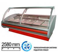 Холодильная витрина Cold 25 (w-25-pvp-k-GN) , фото 1
