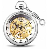 Винтажный Стиль механические карманные часы с крышкой Циферблат дизайн 24251