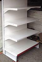 Торговые стеллажи с полками БУ для магазина производство Модерн Экспо