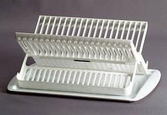 Сушка для посуду 2в1 53*23*19 см пластик білий