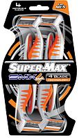 """Станок (4 леза) AZ39 """"Супер-Макс"""" 4шт./уп. (72/12)"""