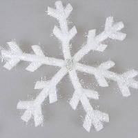 Рождественские белые снежинки украшения Белый
