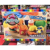 Детский набор для творчества Fast food
