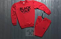Мужской спортивный костюм Black Star красный