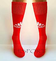 Гетры футбольные Adidas красный