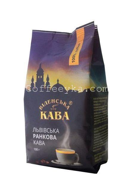 Кофе молотый Віденська кава Ранкова, 100 г