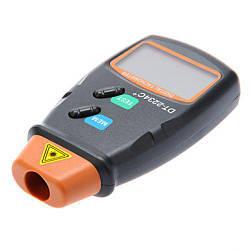 Цифровой фото тахометр лазерный бесконтактный MHZ DT-2234C+