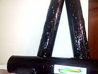 Стрейч черный 17мк х 500мм х 350м. Вес нетто 2,3 кг.