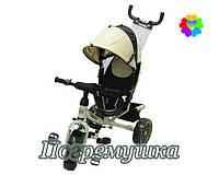Детский трехколесный велосипед Turbo Trike 3113 Eva - Бежевый