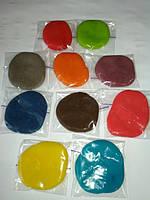 Тесто для лепки,пластилин для лепки 10 цветов по 20 г