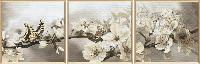 """Набор для вышивания нитками и бисером """"Цветущий сад"""", 3ч 30*30см(ННК6502)"""