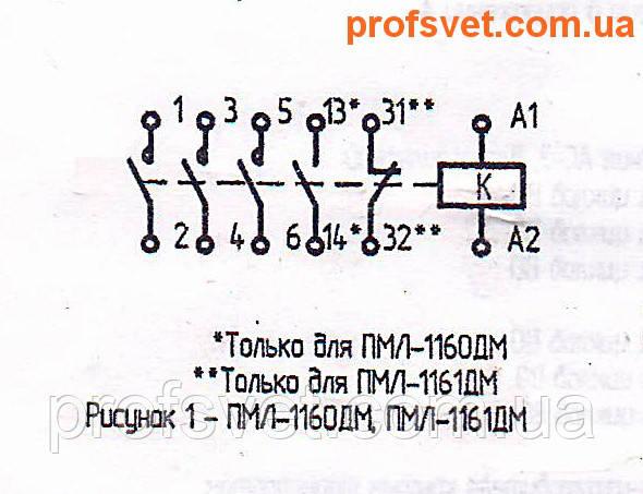 сканирование электрическая схема подключения пмл-1160-дм 16a