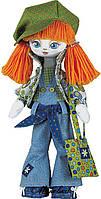 """Набор для шитья текстильных кукол """"Модница"""", 18*45см, в кор.32*23*6см(К1004)"""