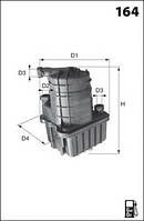Топливный фильтр ELG5317 MECAFILTER