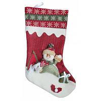 XD15652 носок с изображением снеговика рождественские украшения Цветной