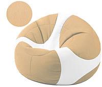 Кресло-мяч Евро в бежевом цвете, ткань Оксфорд (размеры: M, L)