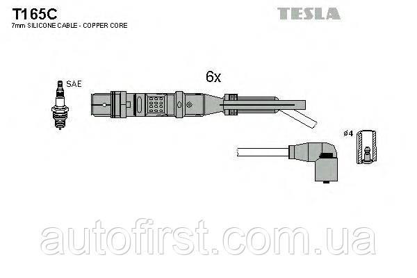 Комплект проводів запалювання Tesla T165C Seat, VW