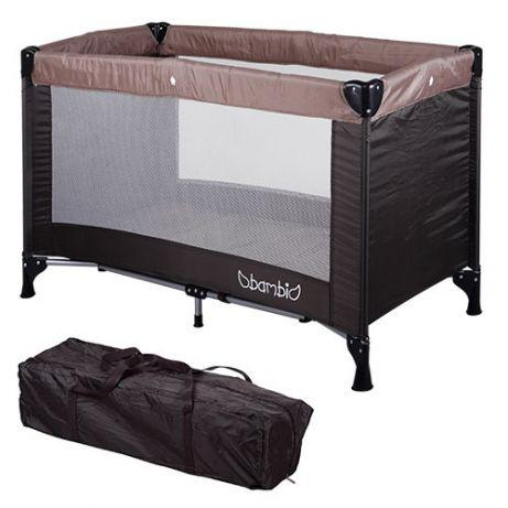 Детский манеж-кровать BAMBI M 3658-17